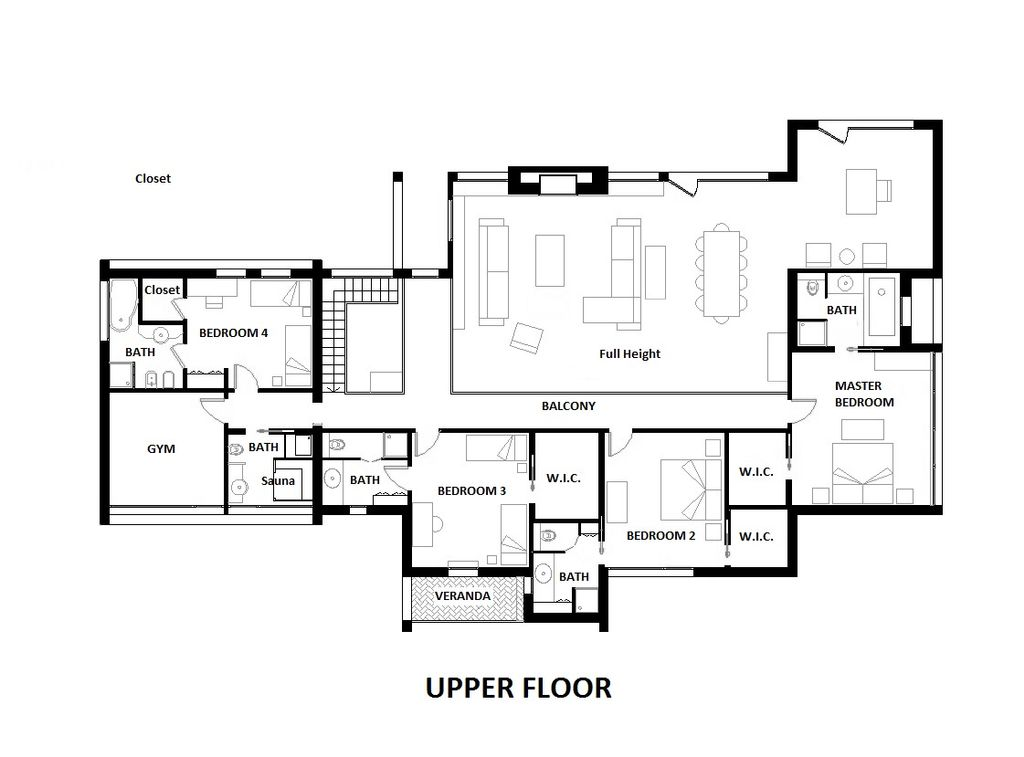 Modern Style House Plan - 4 Beds 6 Baths 5164 Sq/Ft Plan #542-1 on house with two kitchens, house with an office, house with game room, house with steam room, house with an elevator, house with 2 pools, house with party room, house with dance studio, house with pool tables, house with shops, house with table tennis, house with beauty salon, house with indoor pool, house with tennis courts, house with swimming pool, house with solarium, house with weight room,