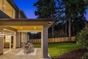 Contemporary Style House Plan - 5 Beds 4.5 Baths 4313 Sq/Ft Plan #1066-125 Exterior - Covered Porch
