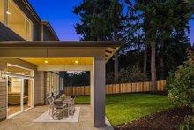 House Plan Design - Contemporary Exterior - Covered Porch Plan #1066-125