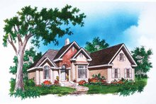 House Design - Traditional Exterior - Front Elevation Plan #929-489