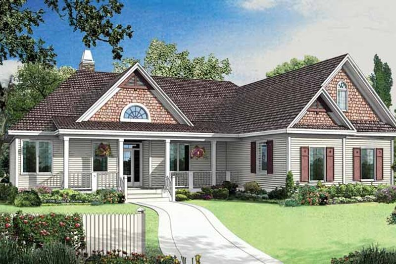 Craftsman Exterior - Front Elevation Plan #929-403 - Houseplans.com