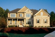 Country Exterior - Front Elevation Plan #927-737