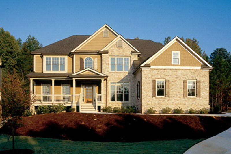 Country Exterior - Front Elevation Plan #927-737 - Houseplans.com