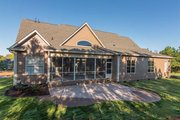 Craftsman Style House Plan - 4 Beds 3 Baths 2863 Sq/Ft Plan #929-7 Exterior - Rear Elevation