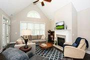 European Style House Plan - 3 Beds 2 Baths 1676 Sq/Ft Plan #929-53 Interior - Family Room