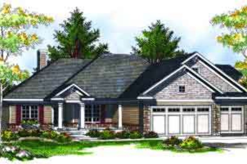 House Plan Design - Traditional Photo Plan #70-698