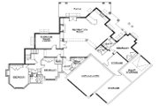 European Style House Plan - 5 Beds 5 Baths 3052 Sq/Ft Plan #5-333 Floor Plan - Lower Floor Plan