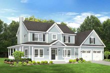 Home Plan - Traditional Exterior - Front Elevation Plan #1010-80
