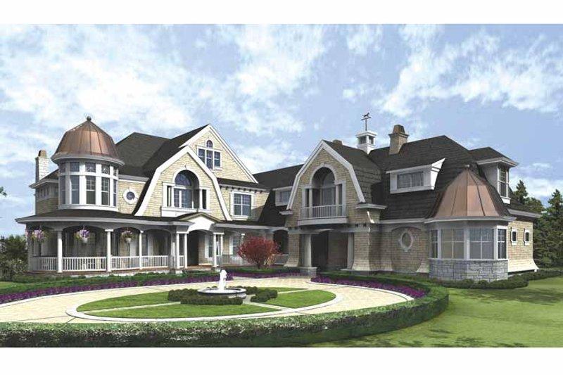 Craftsman Exterior - Front Elevation Plan #132-508 - Houseplans.com