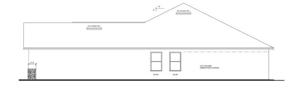 Craftsman Floor Plan - Other Floor Plan Plan #1058-29