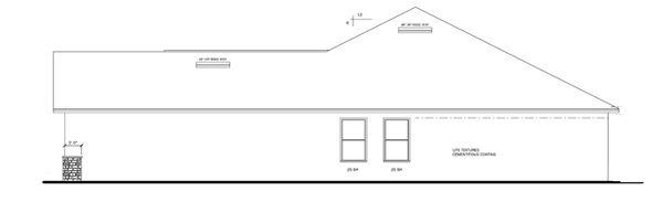 Architectural House Design - Craftsman Floor Plan - Other Floor Plan #1058-29