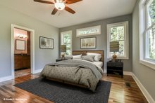 Dream House Plan - Country Interior - Master Bedroom Plan #929-647