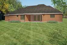 Traditional Exterior - Rear Elevation Plan #1061-9