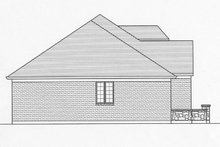 Country Exterior - Other Elevation Plan #46-821
