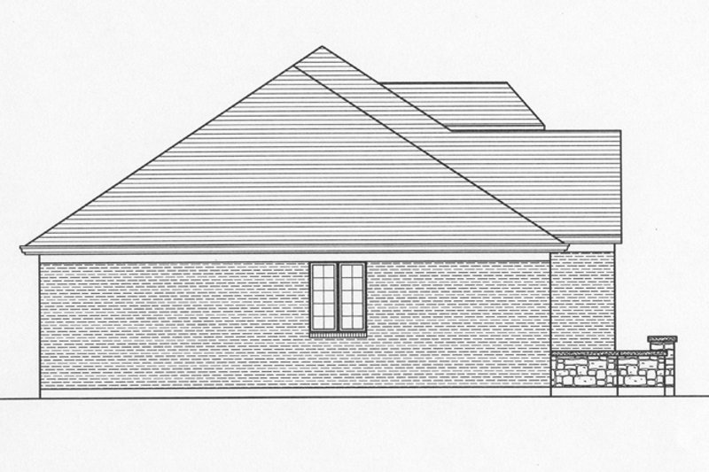 Country Exterior - Other Elevation Plan #46-821 - Houseplans.com