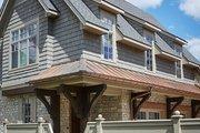 Tudor Style House Plan - 5 Beds 5 Baths 7398 Sq/Ft Plan #928-275 Exterior - Rear Elevation