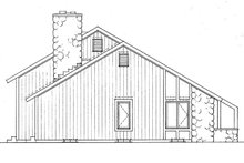 House Plan Design - Contemporary Exterior - Other Elevation Plan #72-763