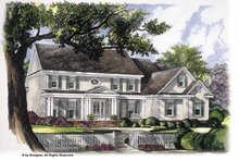 Home Plan - Classical Exterior - Front Elevation Plan #952-243