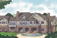 House Design - Craftsman Exterior - Rear Elevation Plan #453-458