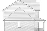 Traditional Style House Plan - 4 Beds 2.5 Baths 2076 Sq/Ft Plan #46-899 Exterior - Other Elevation