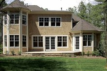 Home Plan - Country Exterior - Rear Elevation Plan #453-523