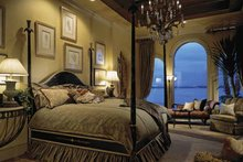 Mediterranean Interior - Master Bedroom Plan #1039-2
