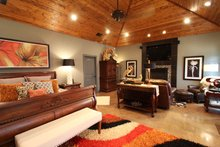 Contemporary Interior - Master Bedroom Plan #17-2551