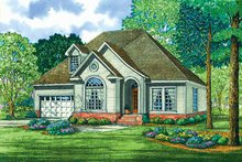 House Plan Design - Country Exterior - Front Elevation Plan #17-3140