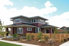 Prairie Exterior - Front Elevation Plan #895-62