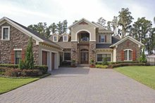 Home Plan - Country Exterior - Front Elevation Plan #1019-18