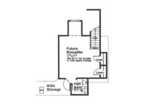 European Floor Plan - Other Floor Plan Plan #310-1271