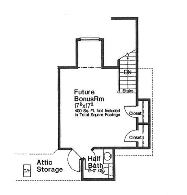 European Floor Plan - Other Floor Plan Plan #310-1271