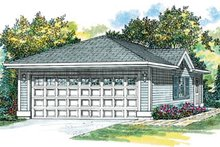 Traditional Exterior - Front Elevation Plan #47-490