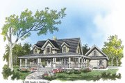Farmhouse Style House Plan - 4 Beds 2.5 Baths 2482 Sq/Ft Plan #929-553 Exterior - Front Elevation