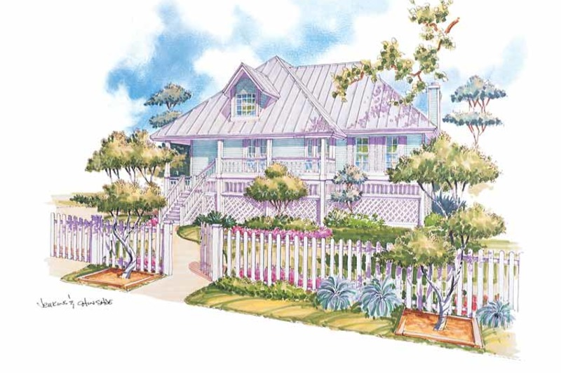 Country Exterior - Front Elevation Plan #930-31 - Houseplans.com