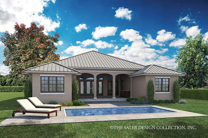 Country Exterior - Rear Elevation Plan #930-466 - Houseplans.com