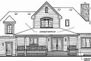 Farmhouse Style House Plan - 3 Beds 2.5 Baths 2204 Sq/Ft Plan #23-337 Exterior - Rear Elevation
