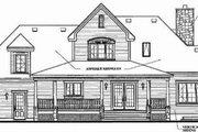 Farmhouse Style House Plan - 3 Beds 2.5 Baths 2204 Sq/Ft Plan #23-337 Exterior - Rear Elevation