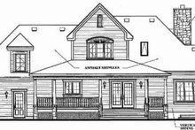 Dream House Plan - Farmhouse Exterior - Rear Elevation Plan #23-337