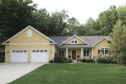 Craftsman Style House Plan - 4 Beds 3.5 Baths 2863 Sq/Ft Plan #928-140 Exterior - Front Elevation