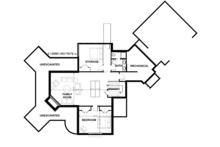 Country Floor Plan - Lower Floor Plan Plan #928-290