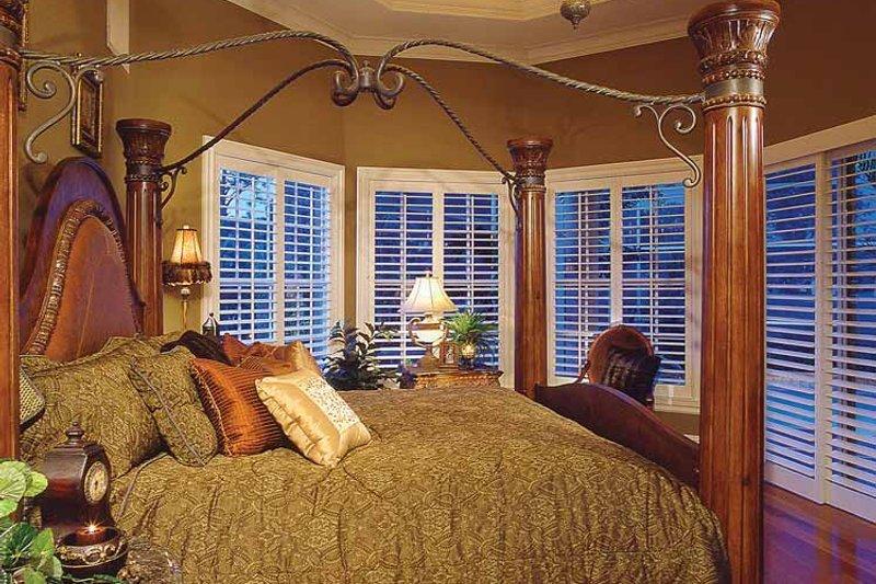 Mediterranean Interior - Master Bedroom Plan #930-60 - Houseplans.com