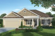 Country Style House Plan - 3 Beds 2.5 Baths 1872 Sq/Ft Plan #938-31 Exterior - Front Elevation