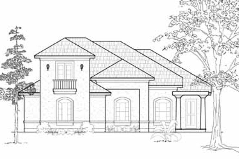 European Exterior - Front Elevation Plan #61-226 - Houseplans.com