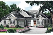House Plan Design - Country Exterior - Front Elevation Plan #927-608