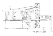 Contemporary Exterior - Other Elevation Plan #47-666