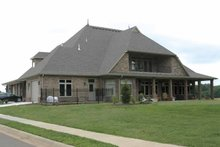 Architectural House Design - Contemporary Exterior - Rear Elevation Plan #11-280