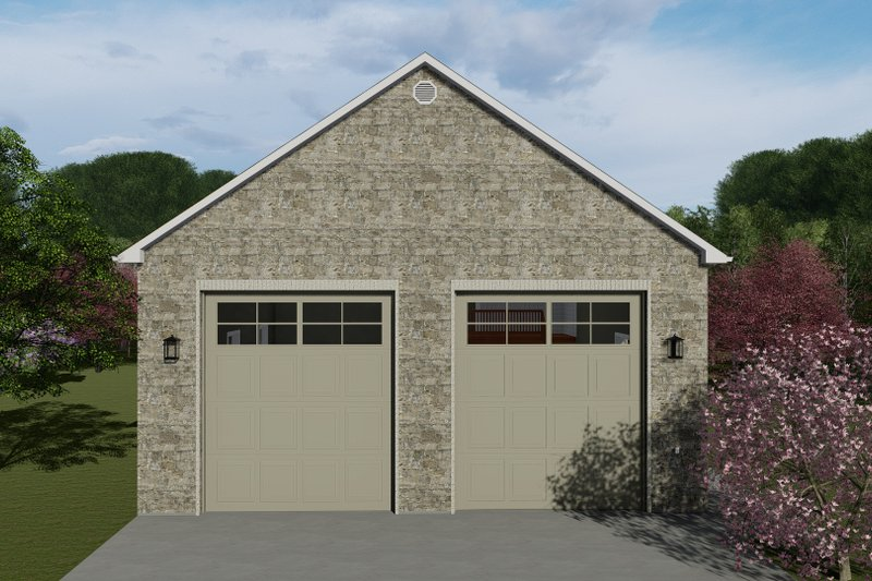 House Plan Design - Traditional Exterior - Front Elevation Plan #1060-85