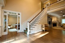 Architectural House Design - Foyer - 3500 square foot Country Home
