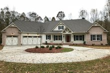 Home Plan - Craftsman Exterior - Front Elevation Plan #437-87